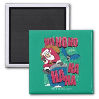 Batman | Joker Santa Claus Climbing Out Chimney Magnet