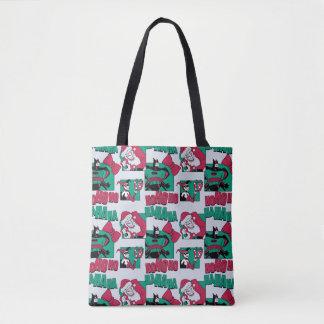 Batman | Joker Santa Pattern Tote Bag