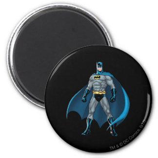 Batman Kicks 6 Cm Round Magnet