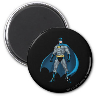 Batman Kicks Refrigerator Magnets