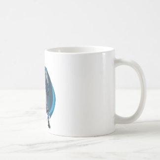 Batman Kicks Basic White Mug