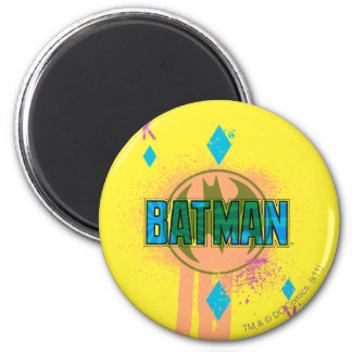 Batman King of Diamonds 6 Cm Round Magnet