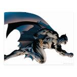 Batman Leaping Side View Postcard