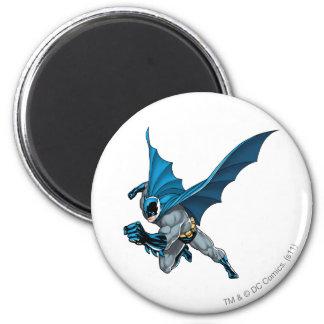 Batman Leaps - Arm Forward Fridge Magnets