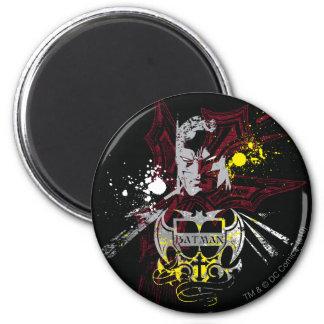 Batman Legend 6 Cm Round Magnet