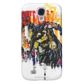 Batman Line Art Collage Samsung Galaxy S4 Cases