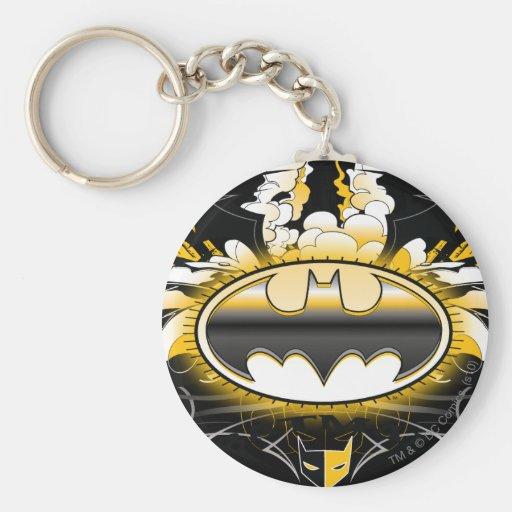 Batman Logo with Cars Key Chains