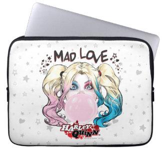 Batman | Mad Love Harley Quinn Chewing Bubble Gum Laptop Sleeve