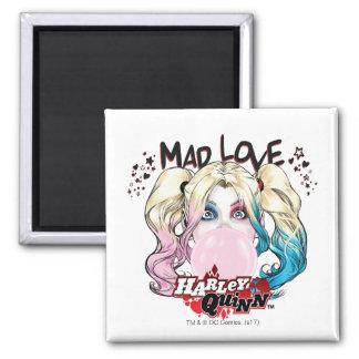 Batman | Mad Love Harley Quinn Chewing Bubble Gum Magnet