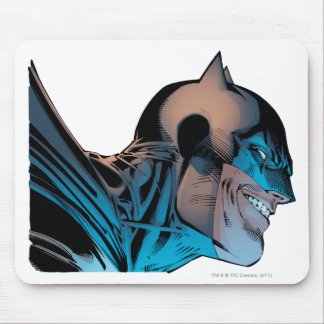 Batman - Masked Head from Below Mousepads