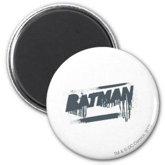 Batman Name Paint Drip Refrigerator Magnet