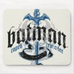 Batman Name with Sword Mouse Pads