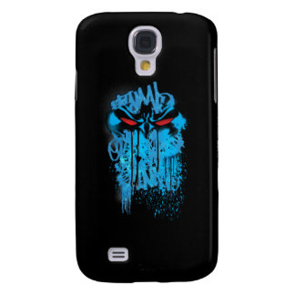 Batman Neon Spraypaint Graffiti Samsung Galaxy S4 Covers