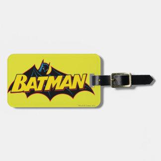 Batman | Old School Logo Luggage Tag