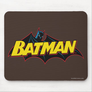 Batman   Old School Logo Mouse Pad