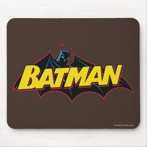 Batman Old School Logo Mousepads