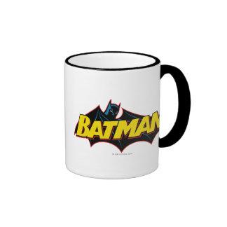 Batman Old School Logo Ringer Mug