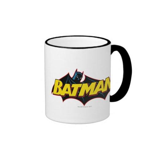 Batman Old School Logo Coffee Mugs