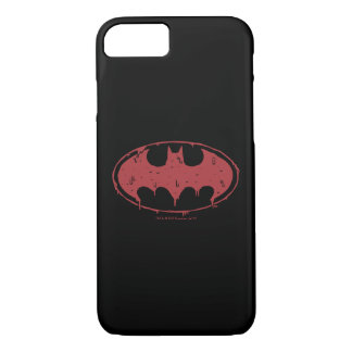 Batman | Oozing Red Bat Logo iPhone 8/7 Case