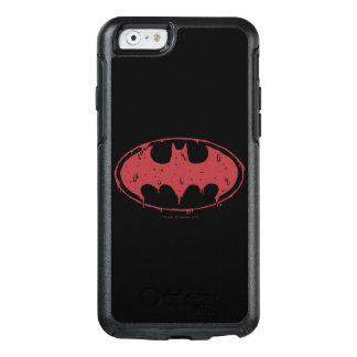 Batman | Oozing Red Bat Logo OtterBox iPhone 6/6s Case