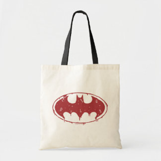 Batman | Oozing Red Bat Logo Tote Bag