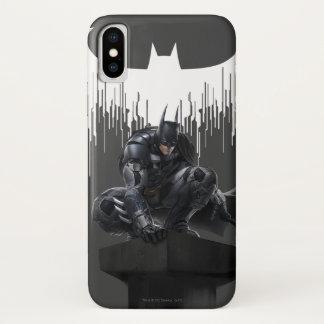 Batman Perched on a Pillar iPhone X Case