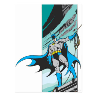 Batman Perches Postcard
