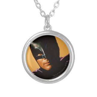 Batman Photo Silver Plated Necklace
