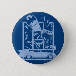Batman - Picto Blue 6 Cm Round Badge
