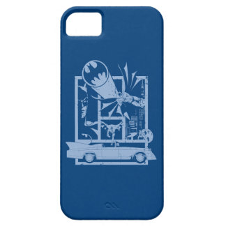Batman - Picto Blue iPhone 5 Covers