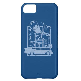 Batman - Picto Blue iPhone 5C Case