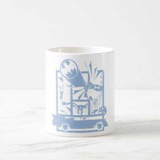 Batman - Picto Blue Mug
