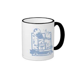 Batman - Picto Blue Ringer Coffee Mug