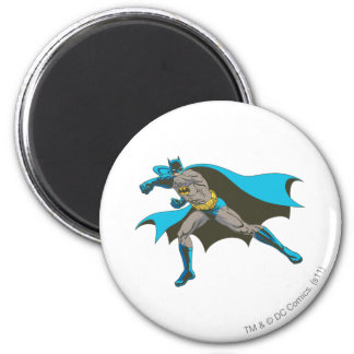 Batman Punching 2 Refrigerator Magnets
