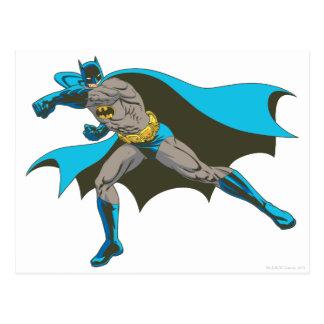 Batman Punching 2 Postcard