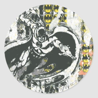 Batman - Rise Up Collage 1 Classic Round Sticker