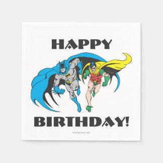 Batman & Robin Paper Napkins
