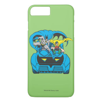 Batman & Robin Ride Batmobile iPhone 8 Plus/7 Plus Case