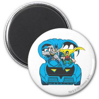 Batman & Robin Ride Batmobile Magnet
