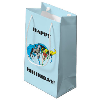 Batman & Robin Small Gift Bag