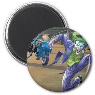 Batman Rogue Rage - 3 6 Cm Round Magnet
