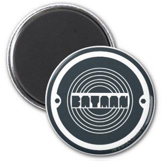 Batman Round Logo 6 Cm Round Magnet
