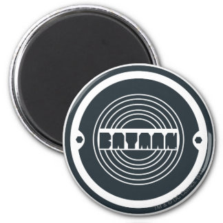 Batman Round Logo Refrigerator Magnets
