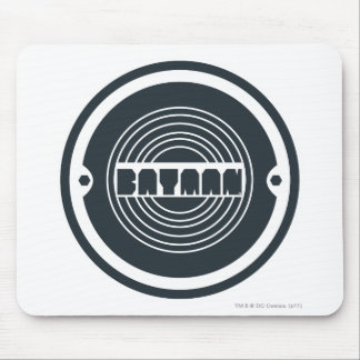 Batman Round Logo Mouse Pad