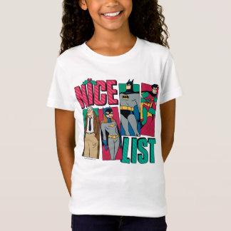 Batman | Santa Nice List of Heroes T-Shirt