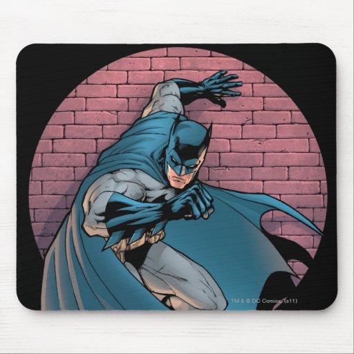 Batman Scenes - Brick Wall Mousepads