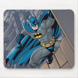Batman Scenes - Hanging From Ledge Mouse Pad