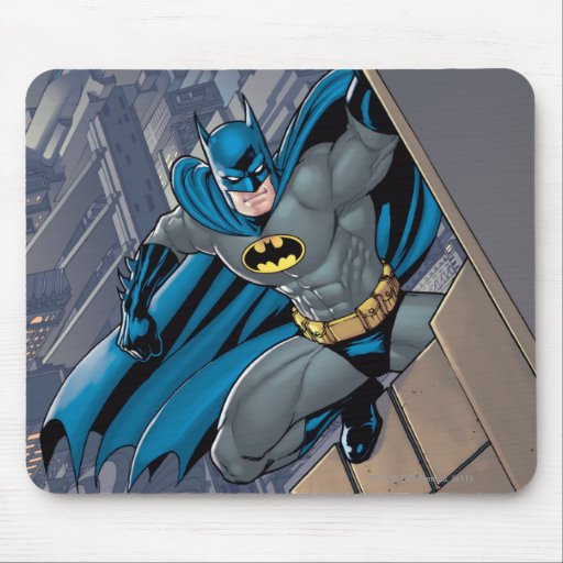 Batman Scenes - Hanging From Ledge Mouse Pads