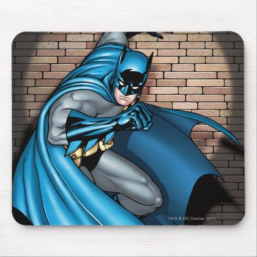 Batman Scenes - In the Spotlight Mouse Pads