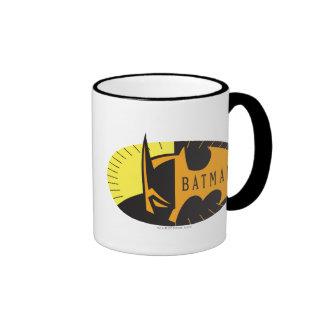 Batman Silhouette Ringer Mug